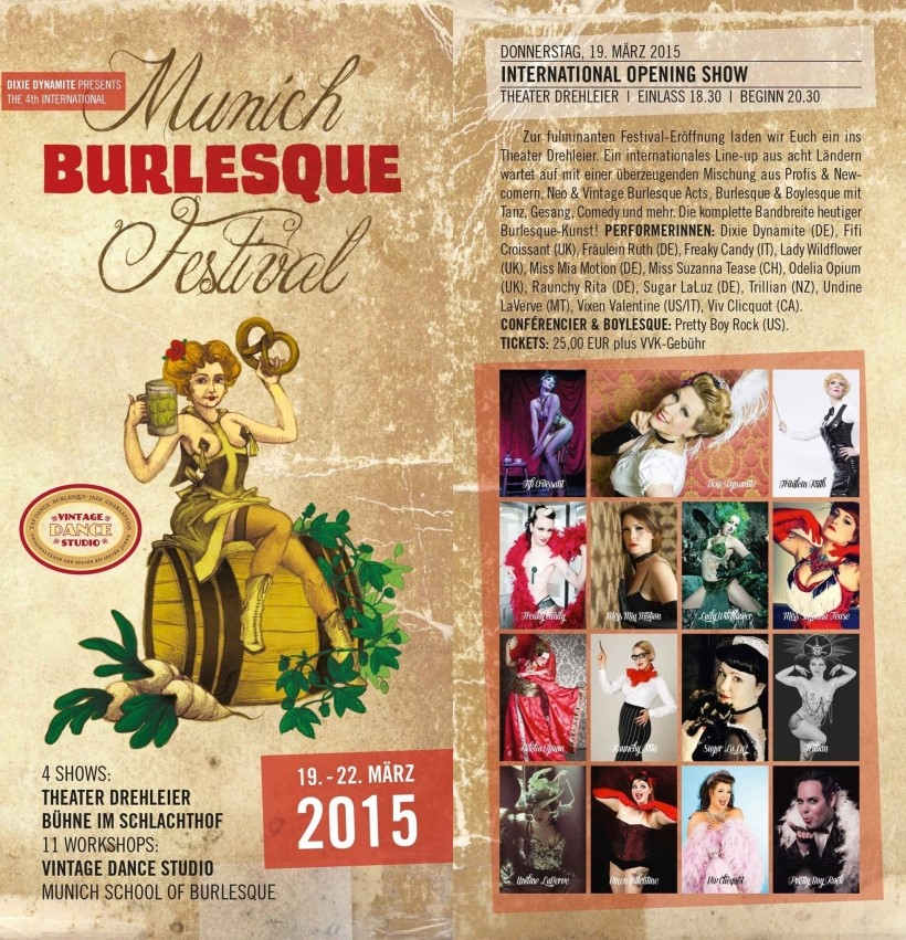 Munich Burlesque Festival 2015 - München / Germany